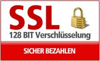 Sichere SSL Verschl�sselung beim Einkaufsprozess